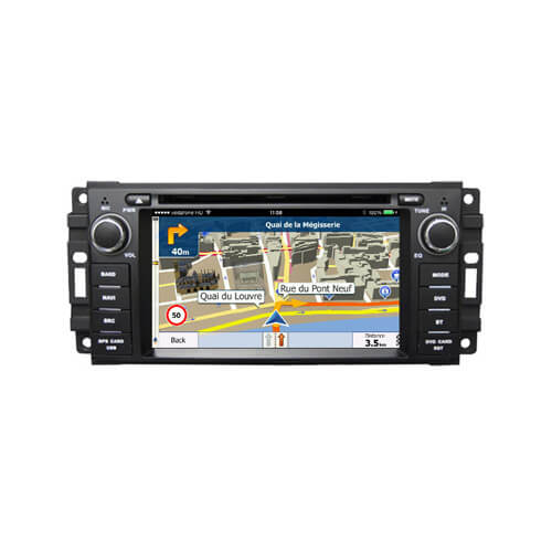 Chrysler/Jeep/Dodge Double Din Stereo