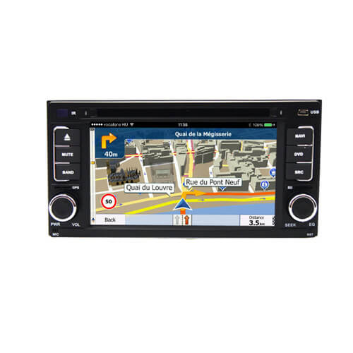 2008-2010 Subaru Forester/Impreza Customized Double Din Car DVD Player
