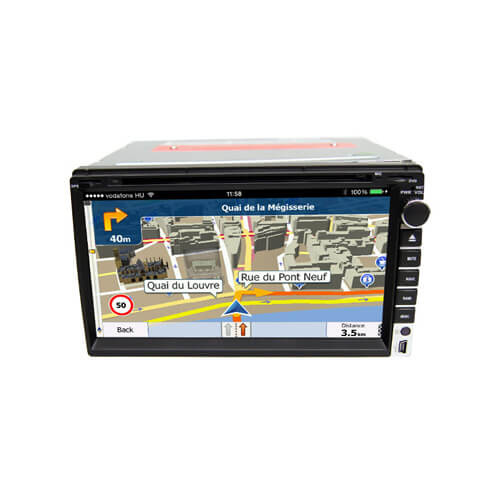 Universal 2 Din Stereo Navigation 6.95-inch