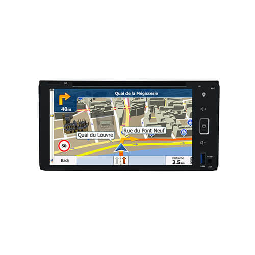 Universal Auto Navigation System Built In Bluetooth