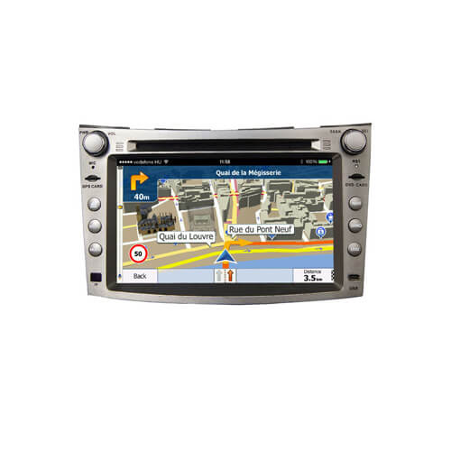 Subaru Legacy/Outback 2009-2011 Autoradio GPS Bluetooth