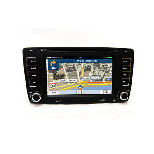 Skoda Octavia A5 In Dash Car Multimedia System