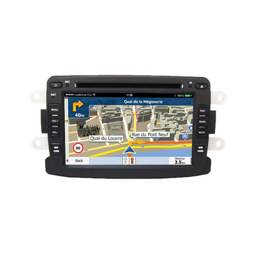 Renault Duster Logan Sandero Car Audio Navigation System