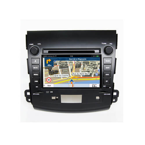 Mitsubishi Outlander 2006-2011 Double Din Radio Car LCD Screen