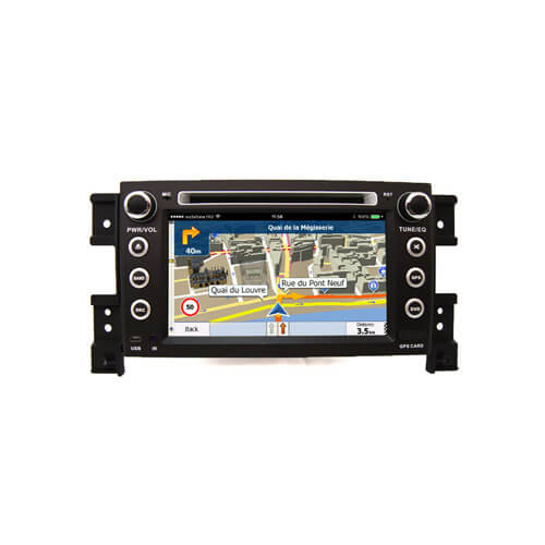 Suzuki Grand Vitara/Escudo 2005-2012 Double Din Car DVD Player