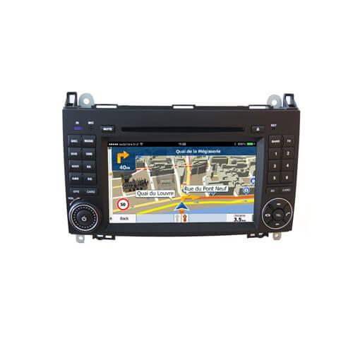 Mercedes/Benz/B200/B150/B170/A180/A160 Dash DVD Player