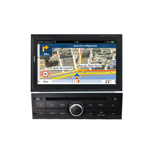 Mitsubishi L200 2010-2012 Double Din Bluetooth Radio
