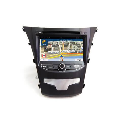 Ssangyong Korando 2014 Double Din Car DVD Player