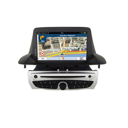 Renault Scenic Megane Fluence 2014 Double Din Car Monitor Player
