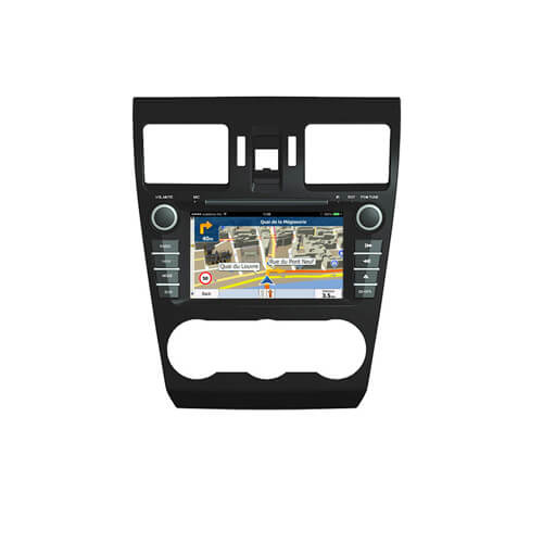 Subaru Forester/Impreza 2013 Double Din Head Unit With GPS