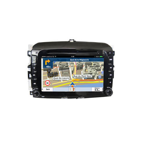 Fiat 500L 2013-2015 Double Din Touch Screen Stereo Player