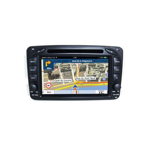Mercedes Benz A/C/G/E Class GPS Navigation Monitor