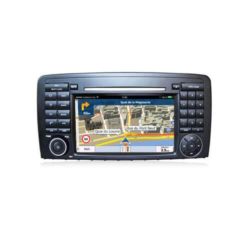 Mercedes Benz R Class In Dash Radio Navigation Screen