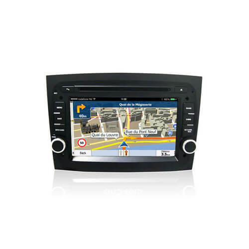 Fiat Doblo 2016 2Din Android Car Head Unit