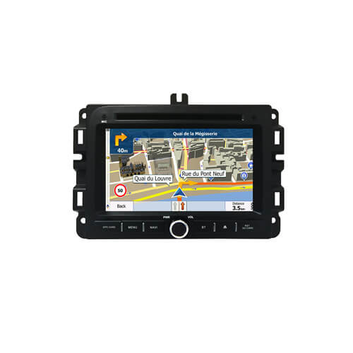 Jeep Renegade 2017 Double Din Car GPS DVD Player