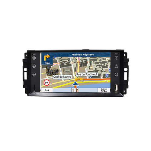 Jeep/Dodge/Chrysler Double Din Navigation Head Unit