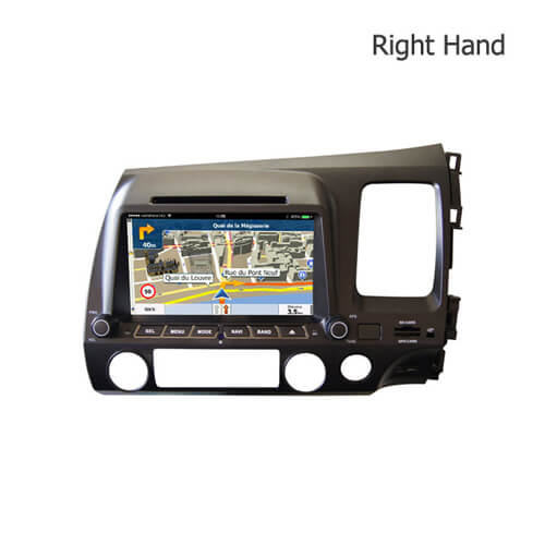 Double Din Dvd Player For Honda Fit Jazz Car Stereo Navigation