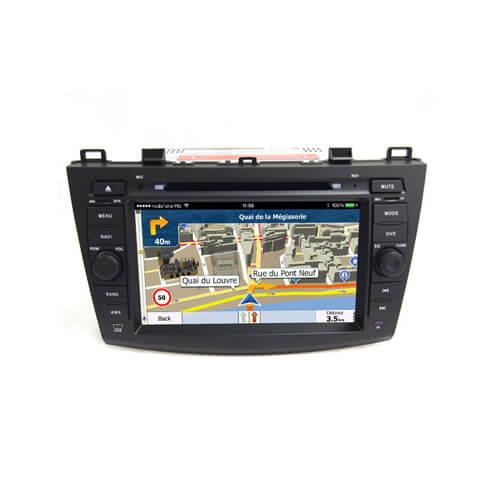 Mazda 3/Axela 2010-2011 Car Audio System With GPS