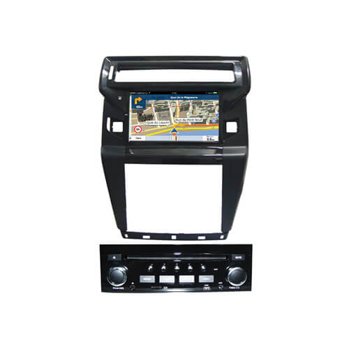 Citroen C-Quatre In Dash Car DVD Player With Radio