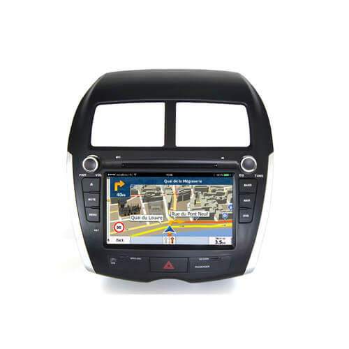 Mitsubishi/Peugeot/Citroen Car GPS System LCD Display