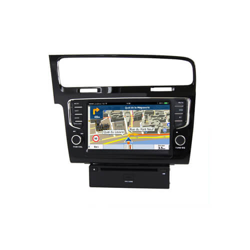 VW Golf 7/Golf VII/Golf Mk7 2013- Double Din Navigation System