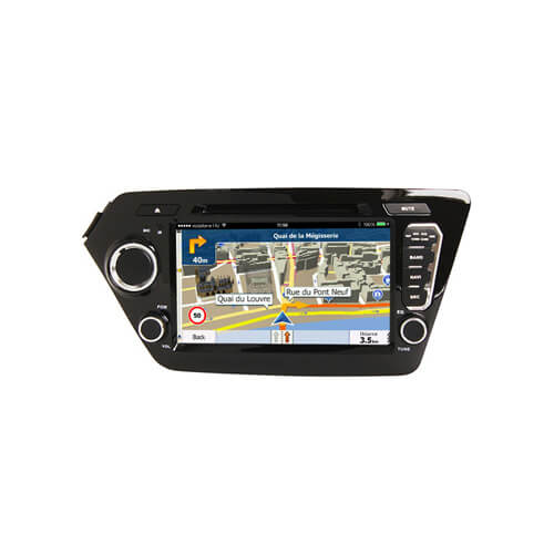 Kia K2/Rio 2011 2012 Double Din Touch Screen Radio Player