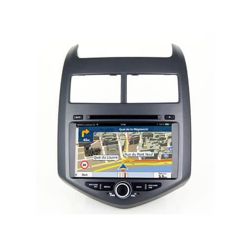 Chevrolet Aveo/Sonic Double Din Car DVD Player
