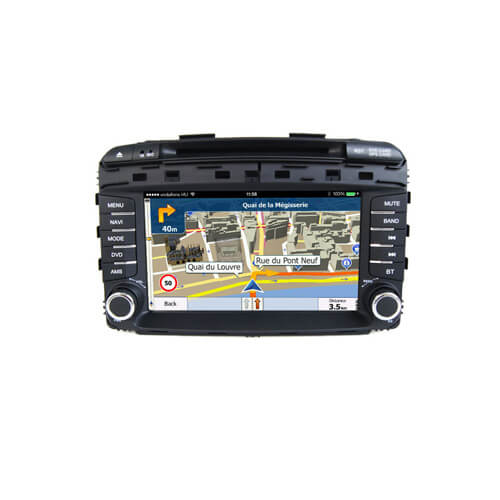 Kia Sorento 2015 Car Audio System With GPS Navigation