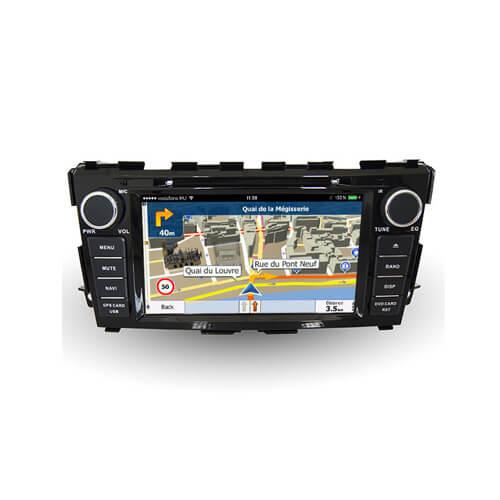 Nissan Teana 2014 2 Din GPS Navigation System