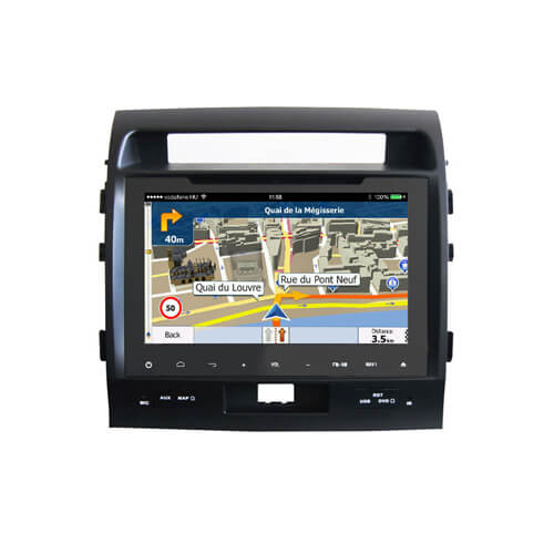 Toyota Land Cruiser In-Dash Car Multimedia Player