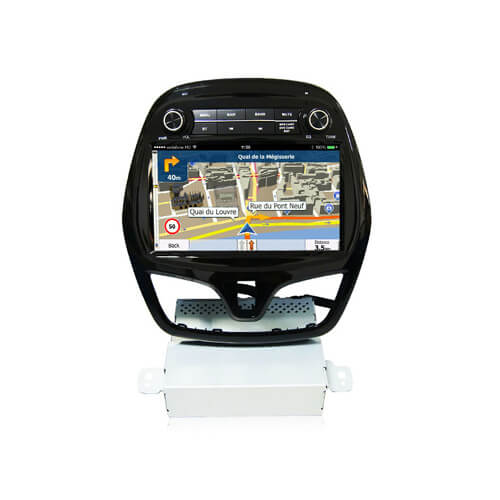 Chevrolet Spark 2015 2016 Double Din Car Radio Android System