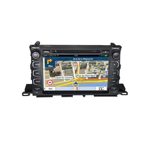 9.0 Inch Touch Screen Car Stereo For Toyota Highlander 2014-2015