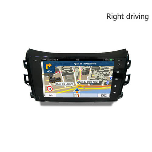 Nissan Navara (Right) Android Car Stereo With Bluetooth