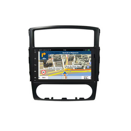 In-Dash Audio Car DVD Player For Mitsubishi Pajero V97/V93