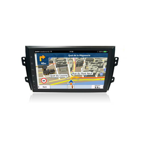 In-Dash Car Original Radio System For Suzuki SX4 2009-2013