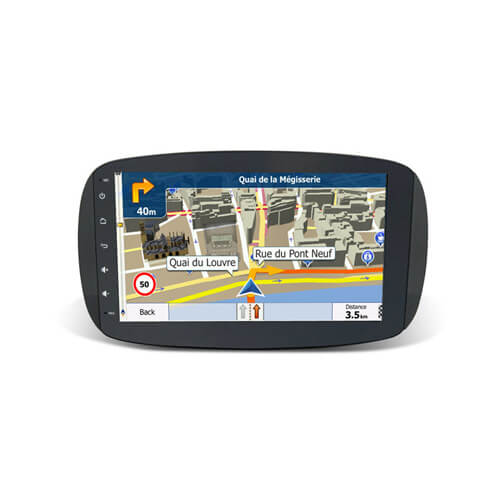 Benz Smart 2015 Car Multimedia GPS Navigation