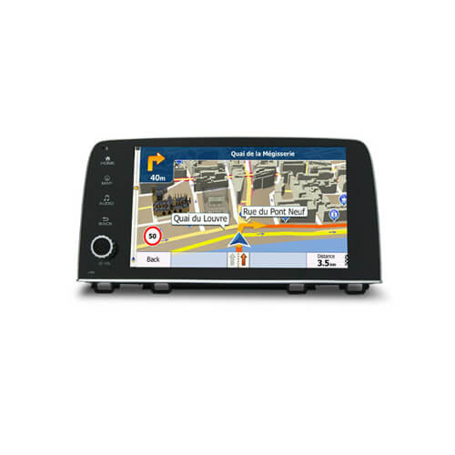 9.0 Inch Octa Core Android GPS Navigation For Honda CRV 2016-2017