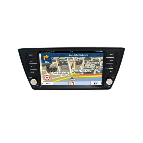 VW Skoda Fabia 2015 8 Inch Touch Screen Head Unit