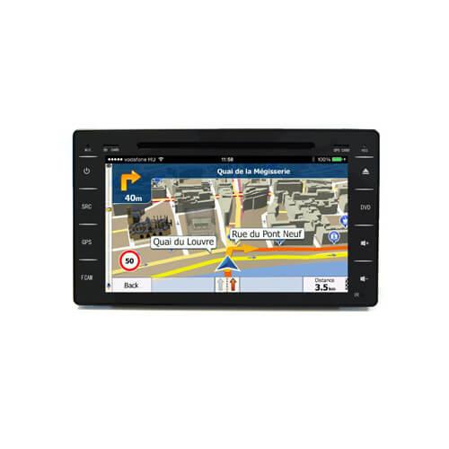 Toyota Hilux 2016 Aftermarket Auto Navigation System
