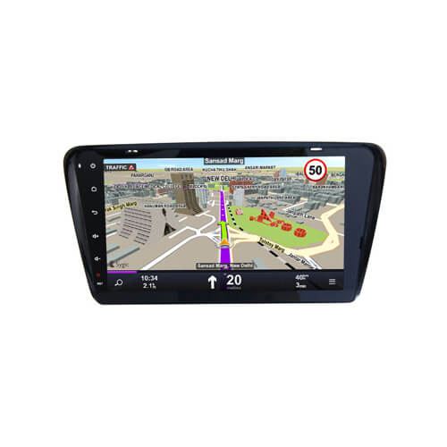 VW Skoda Octavia A7 Central Multimedia Car GPS Navigation Player
