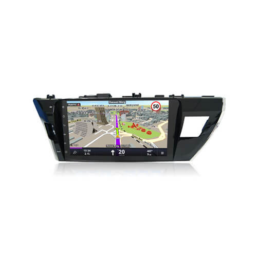 Double Din Car DVD Player For Toyota Corolla 2014 With Android GPS Navigation