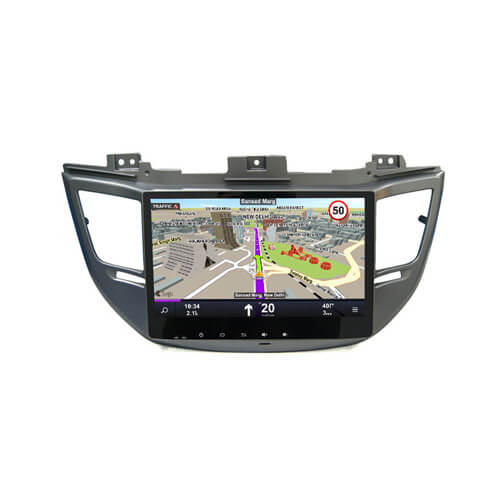 Hyundai IX35 Tucson 2015 Car DVD Player With HD Screen