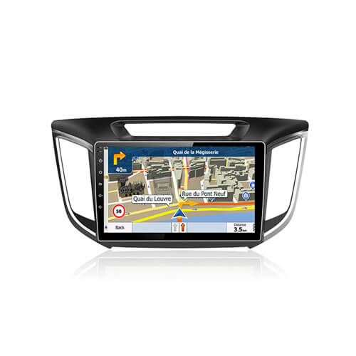 Hyundai IX25 Creta Car DVD Player With Android Navigation