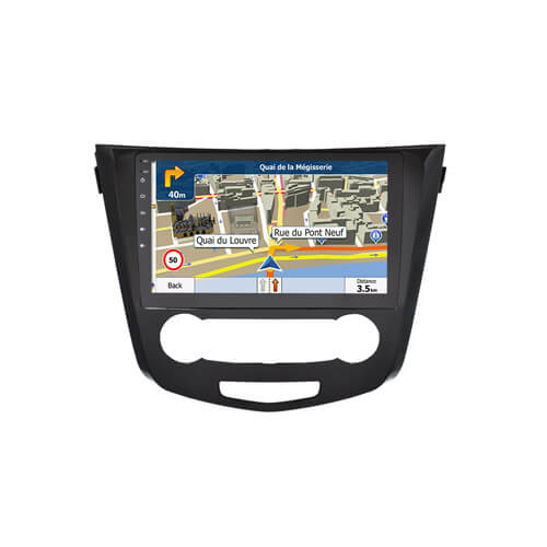 In-Dash Car Stereo For Nissan X-Trail Qashqai(Manual) DVD Player