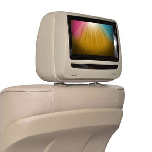 7-Inch Touch Screen Headrest DVD Player