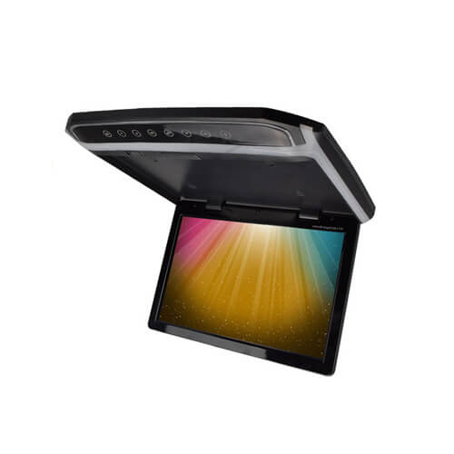 10.2-inch Car Roof Mount DVD Player with IR Earphone