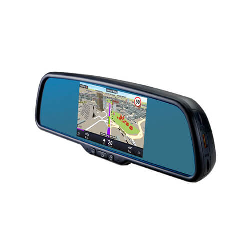 5-inch Car Video Recorder Built-in GPS Navigation