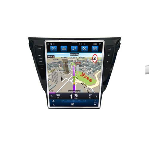 Nissan Qashqai/X-Trail/Manual AC/Dualis Vertical Screen Navigation