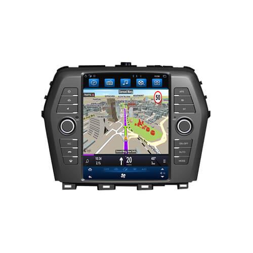 Nissan Maxima 2016 Inbuilt Navigation System Tesla Style