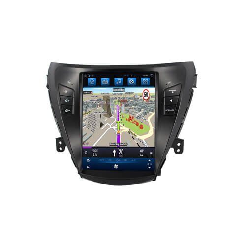 Hyundai Elantra Vertical Screen GPS Navigation Receiver